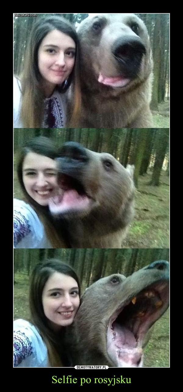 Selfie po rosyjsku –