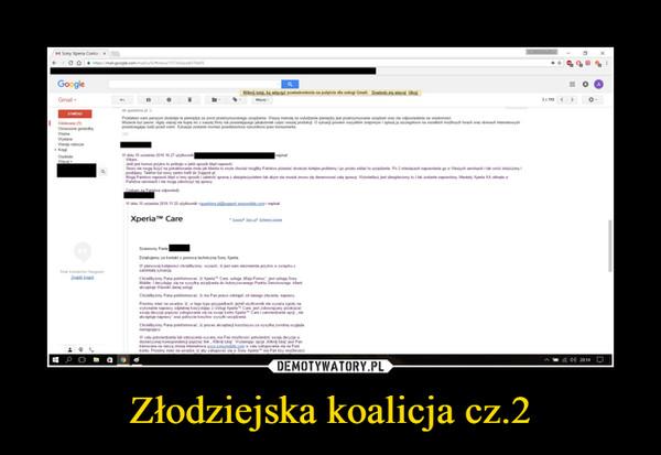 Złodziejska koalicja cz.2 –