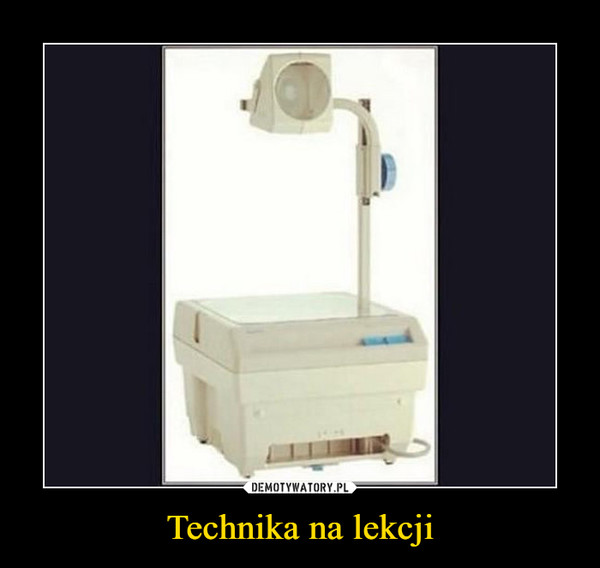 Technika na lekcji –