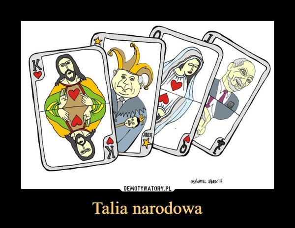 Talia narodowa –