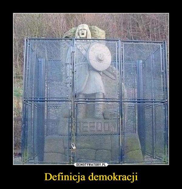 Definicja demokracji –
