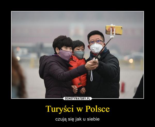 Turyści w Polsce – czują się jak u siebie