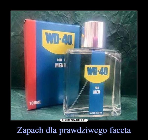 Zapach dla prawdziwego faceta –  wd-40