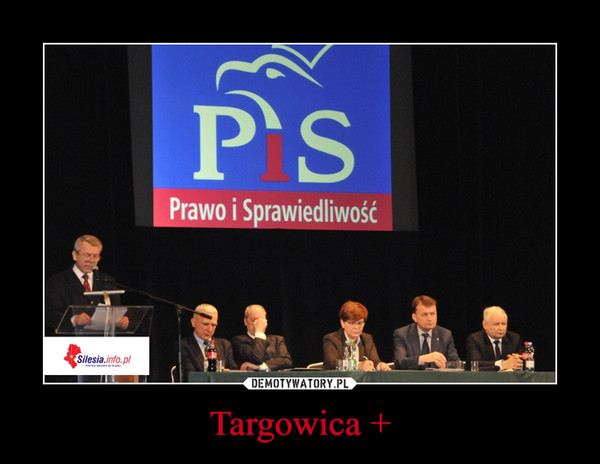 Targowica + –