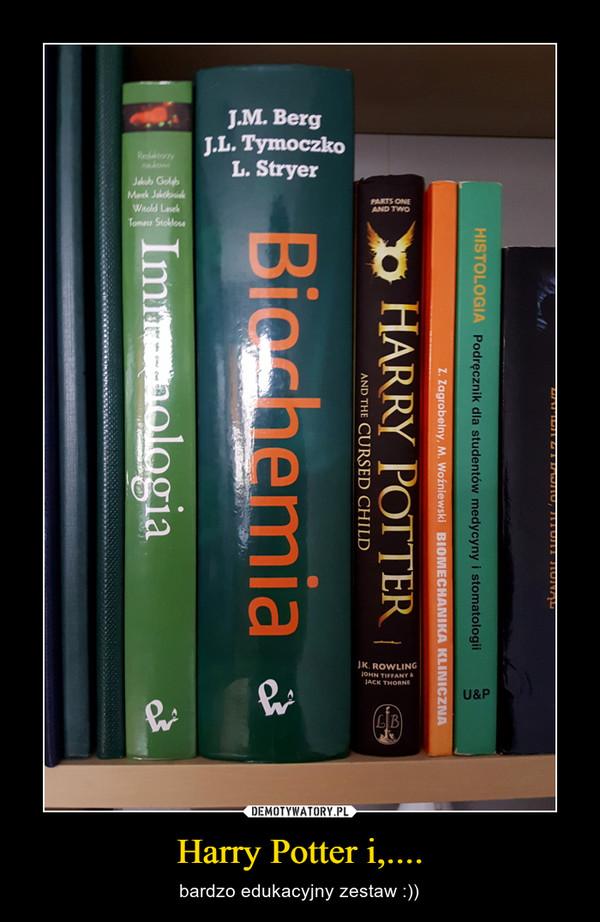 Harry Potter i,.... – bardzo edukacyjny zestaw :))