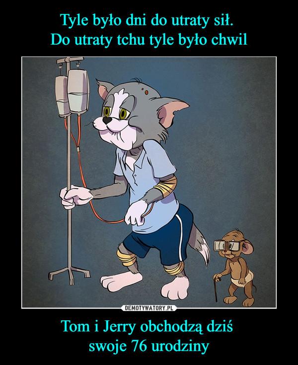 Tom i Jerry obchodzą dziś swoje 76 urodziny –