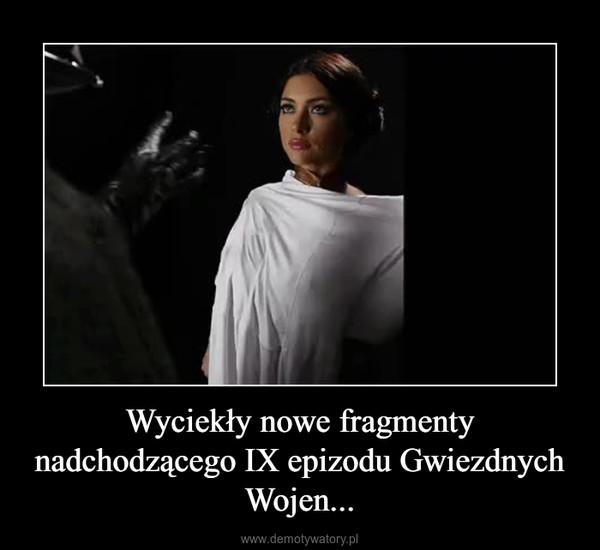 Wyciekły nowe fragmenty nadchodzącego IX epizodu Gwiezdnych Wojen... –