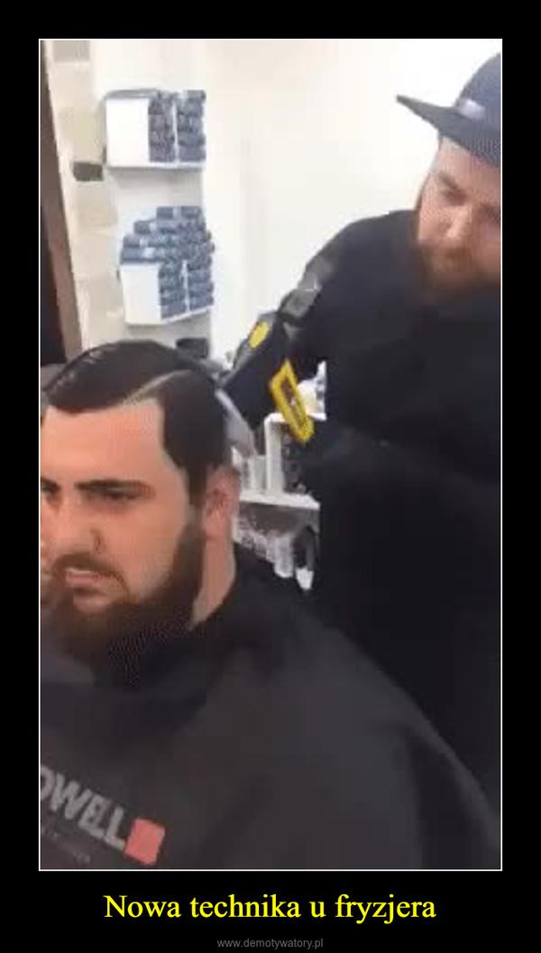 Nowa technika u fryzjera –