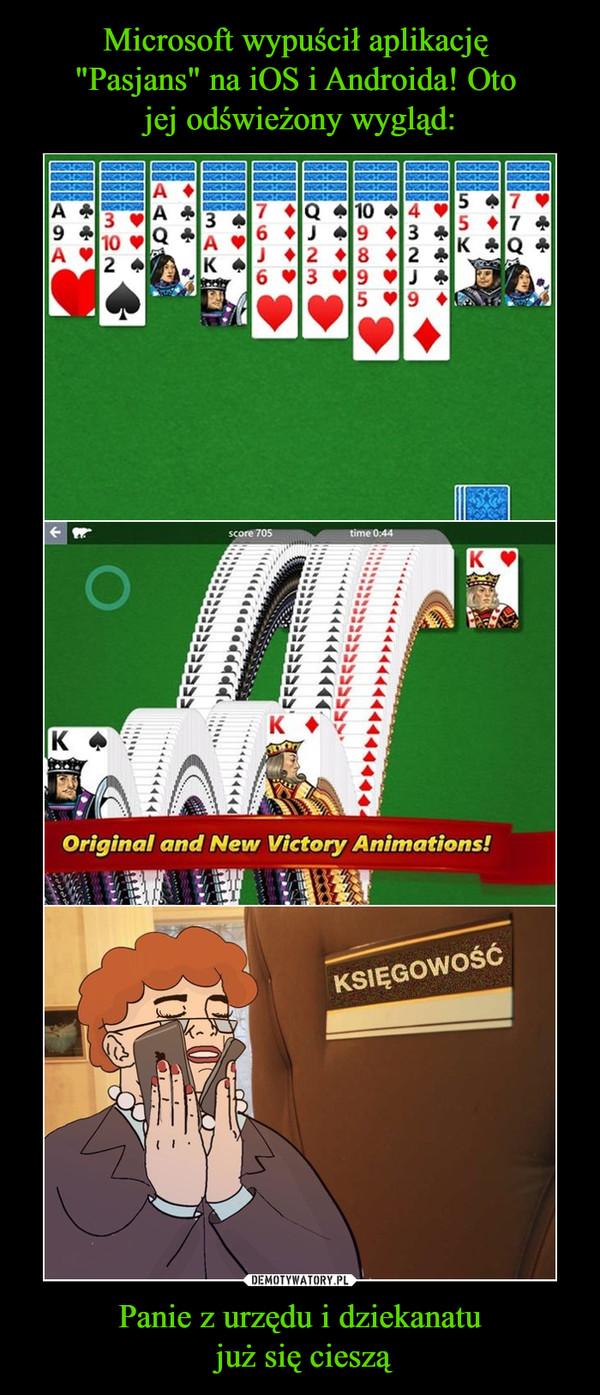 Panie z urzędu i dziekanatu już się cieszą –  Original and New Victory Animations!KSIĘGOWOŚĆ