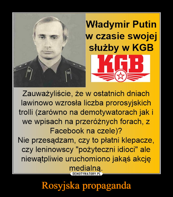 Rosyjska propaganda –