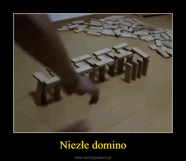 Niezłe domino –