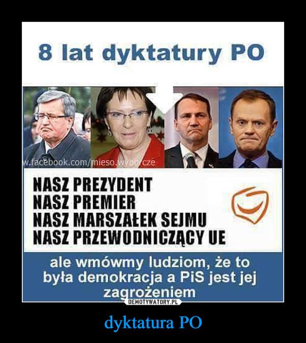 dyktatura PO –