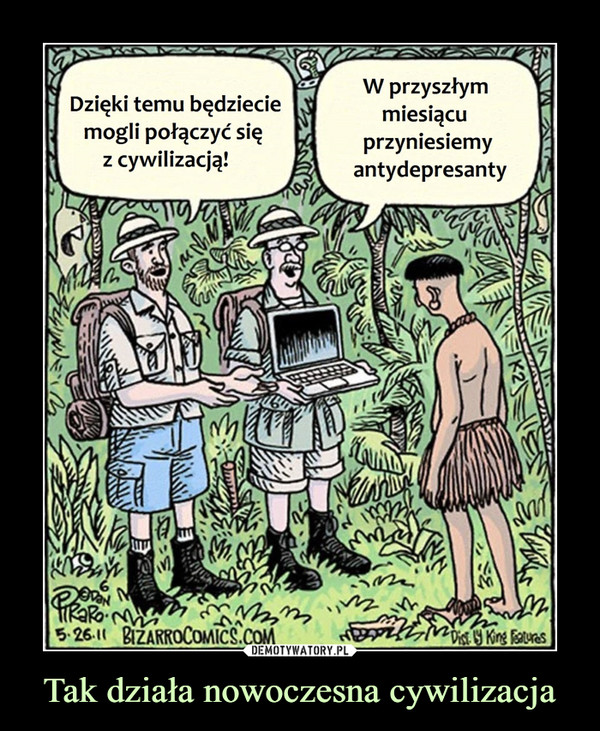 Tak działa nowoczesna cywilizacja –