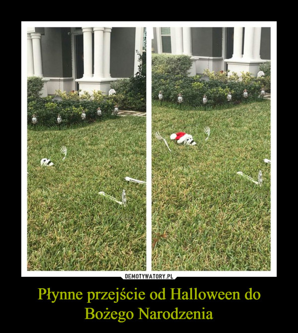 Płynne przejście od Halloween do Bożego Narodzenia –