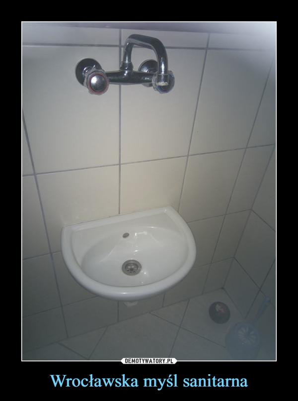 Wrocławska myśl sanitarna –