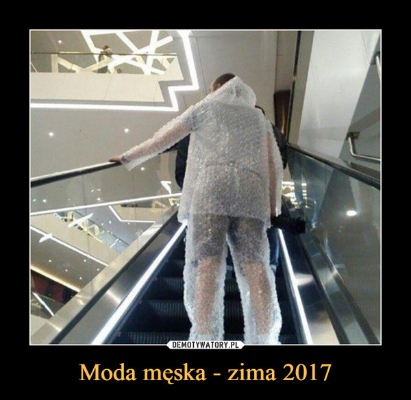 Moda męska - zima 2017 –