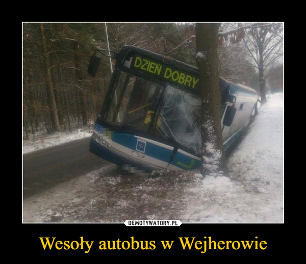 Wesoły autobus w Wejherowie –