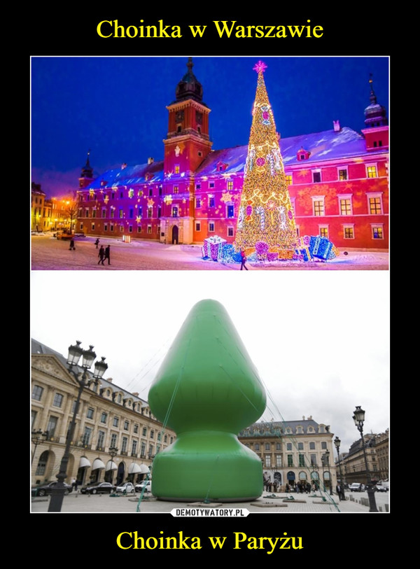 Choinka w Paryżu –