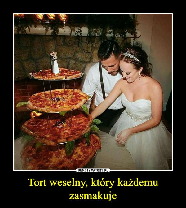 Tort weselny, który każdemu zasmakuje –