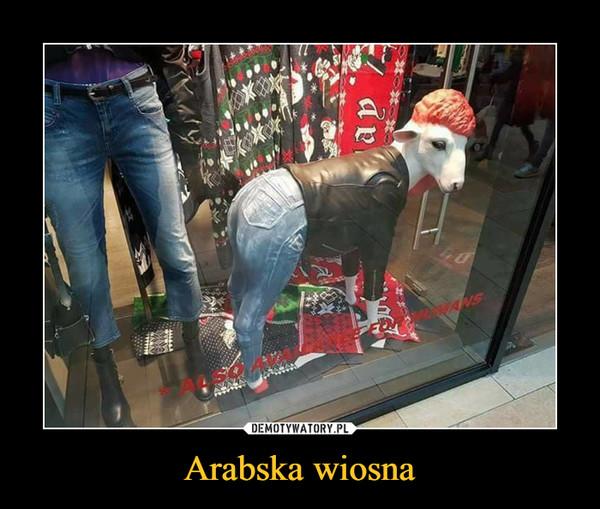 Arabska wiosna –