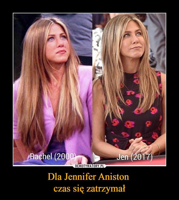 Dla Jennifer Aniston czas się zatrzymał –
