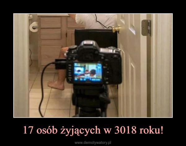 17 osób żyjących w 3018 roku! –
