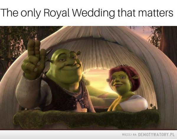 Piękni, zakochani, szczęśliwi. Po prostu jak w bajce... –  The only Royal Wedding that matters