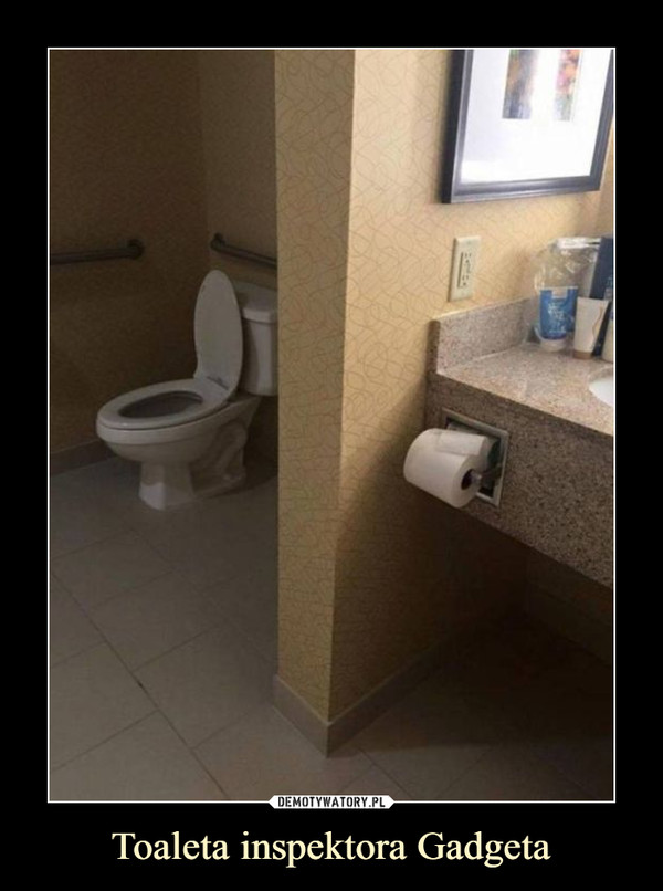Toaleta inspektora Gadgeta –