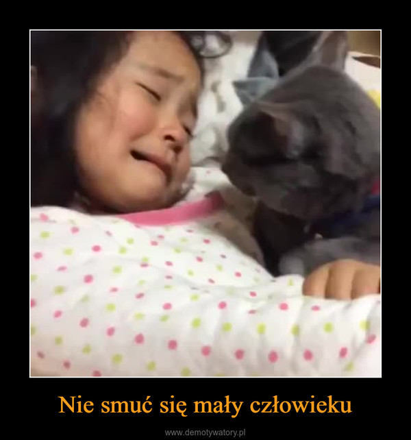 Nie smuć się mały człowieku –