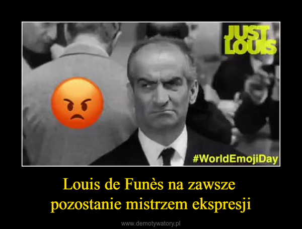 Louis de Funès na zawsze pozostanie mistrzem ekspresji –