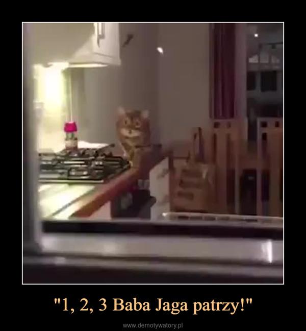 """""""1, 2, 3 Baba Jaga patrzy!"""" –"""
