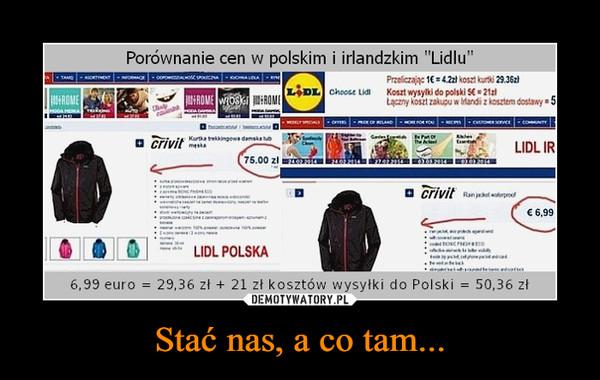 Stać nas, a co tam... –  Porównanie cen w polskim i irlandzkim Lidlu