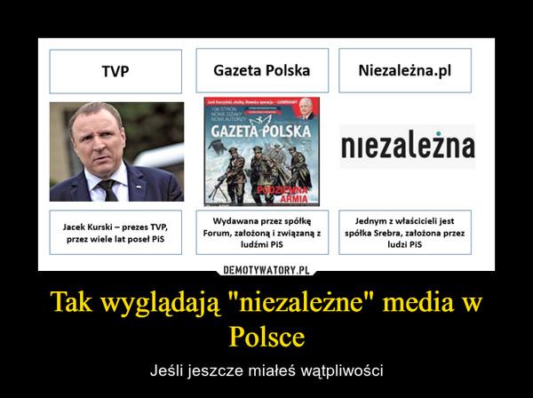 """Tak wyglądają """"niezależne"""" media w Polsce – Jeśli jeszcze miałeś wątpliwości"""