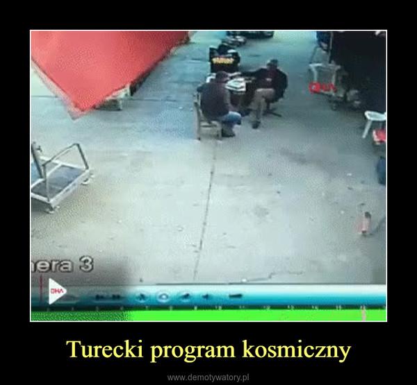 Turecki program kosmiczny –