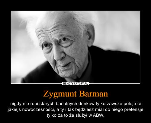 Zygmunt Barman