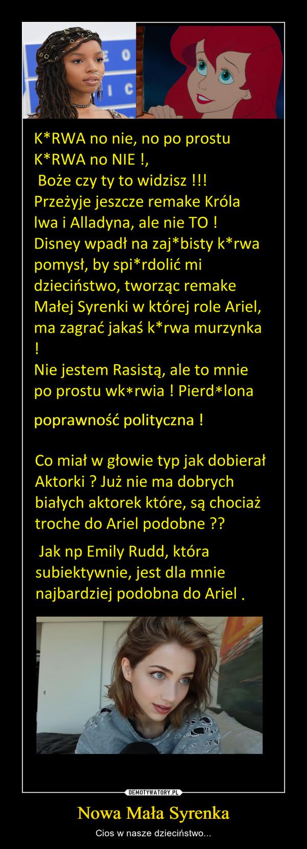 Nowa Mała Syrenka – Cios w nasze dzieciństwo...