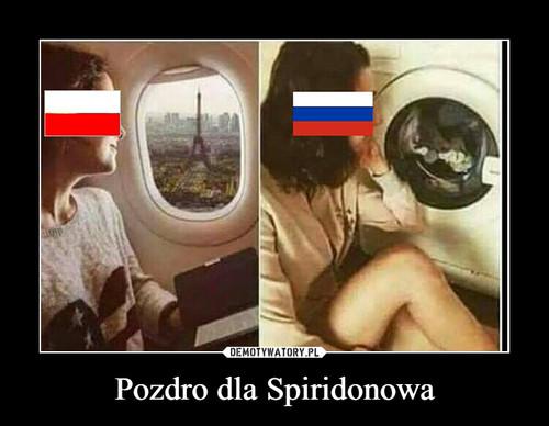 Pozdro dla Spiridonowa