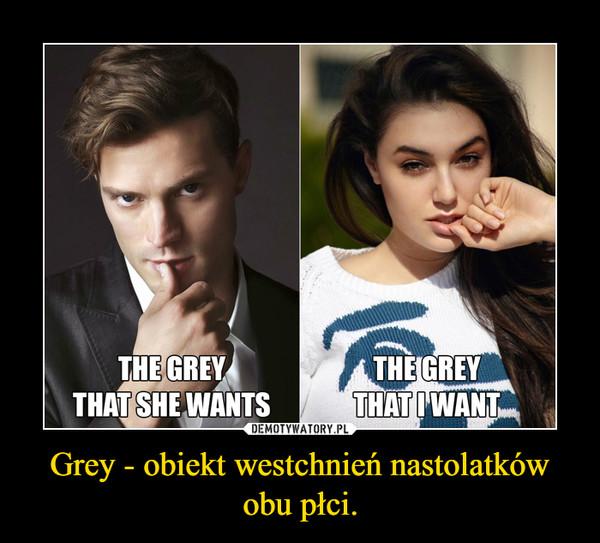 Grey - obiekt westchnień nastolatków obu płci. –