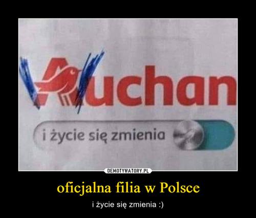 oficjalna filia w Polsce