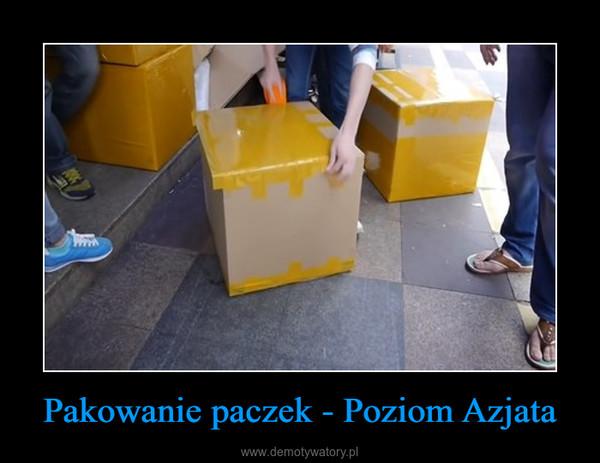 Pakowanie paczek - Poziom Azjata –
