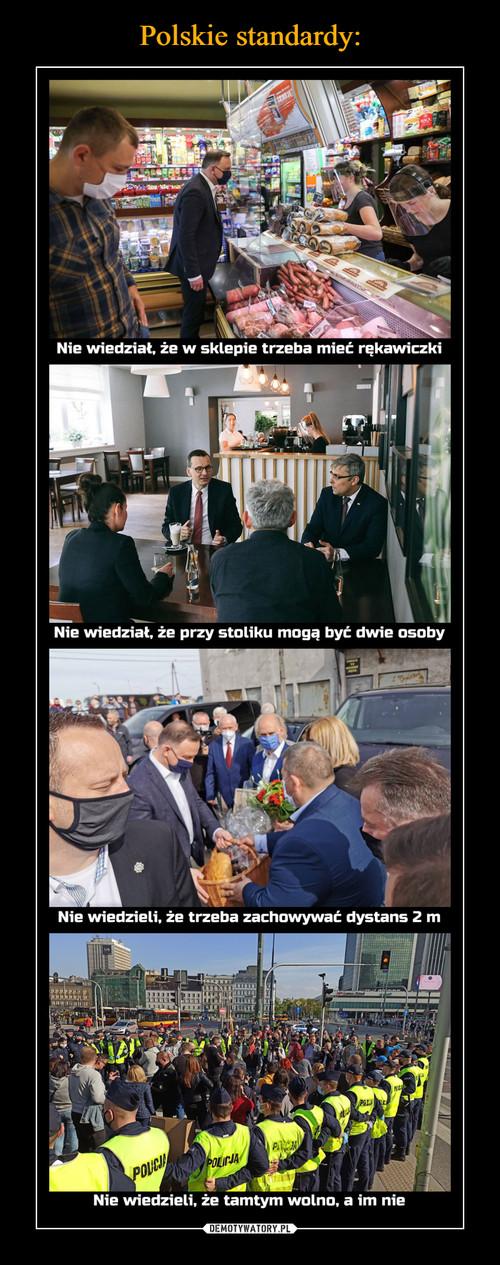 Polskie standardy: