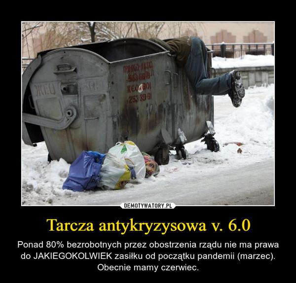 Tarcza antykryzysowa v. 6.0 – Ponad 80% bezrobotnych przez obostrzenia rządu nie ma prawa do JAKIEGOKOLWIEK zasiłku od początku pandemii (marzec). Obecnie mamy czerwiec.