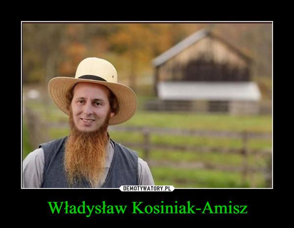 Władysław Kosiniak-Amisz –