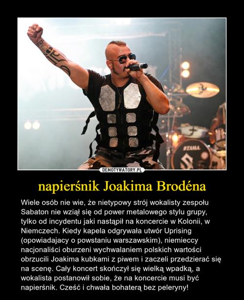 napierśnik Joakima Brodéna