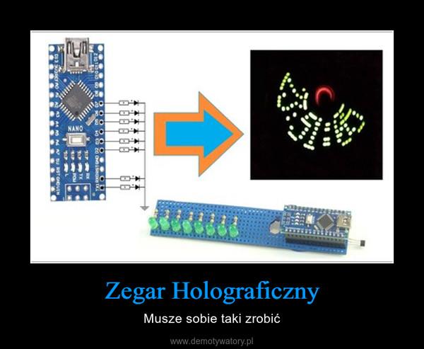 Zegar Holograficzny – Musze sobie taki zrobić