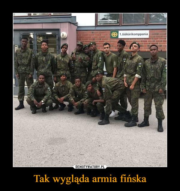 Tak wygląda armia fińska –
