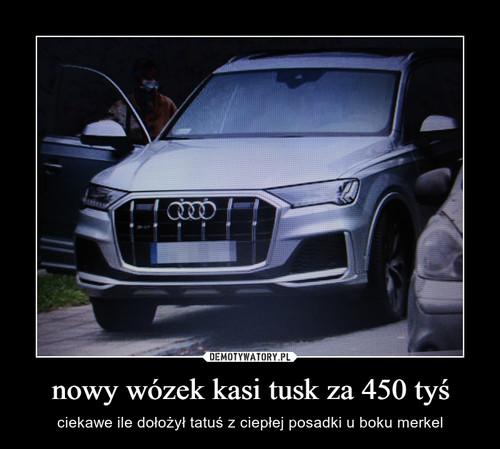 nowy wózek kasi tusk za 450 tyś