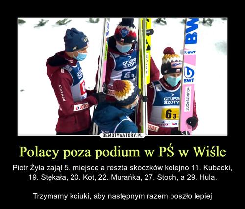 Polacy poza podium w PŚ w Wiśle