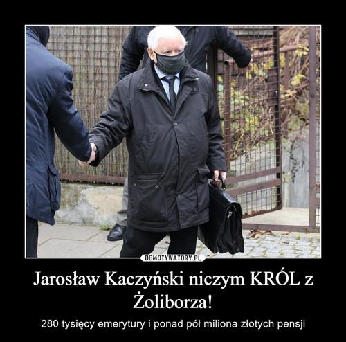 Jarosław Kaczyński niczym KRÓL z Żoliborza!