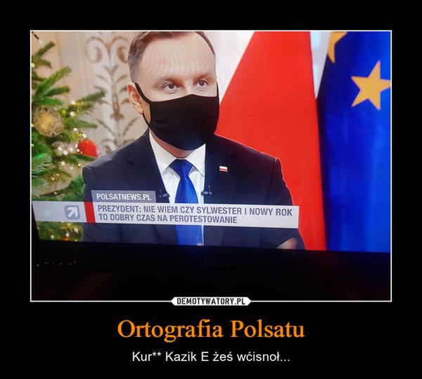 Ortografia Polsatu